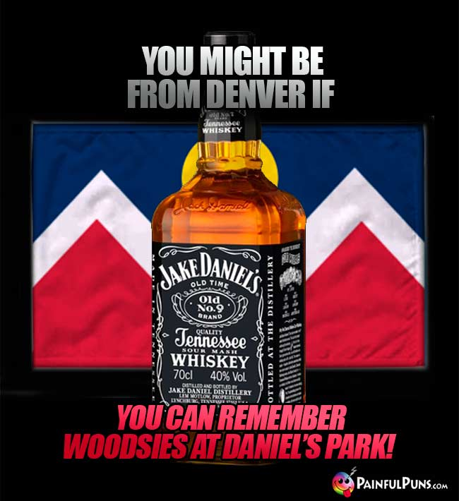 You might be from Denver if you can remember woodsies at Daniel's Park!