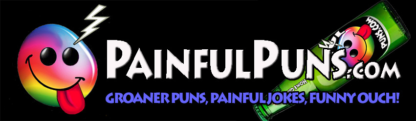 PainfulPuns.com - Groaner Puns, Painful Jokes, Funny Ouch!