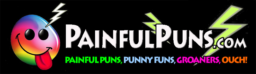 PainfulPuns.com - Painful Puns, Punny Funs, Groaners, Ouch!