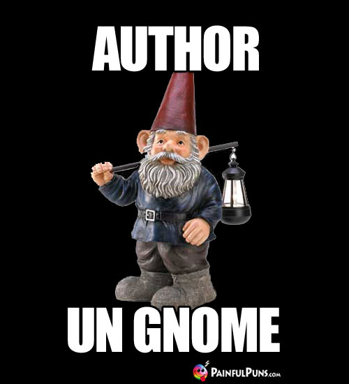 Author Un Gnome