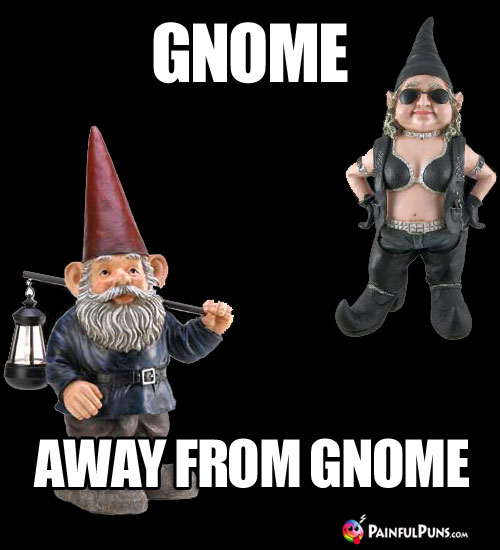 Gnome ... Away from Gnome