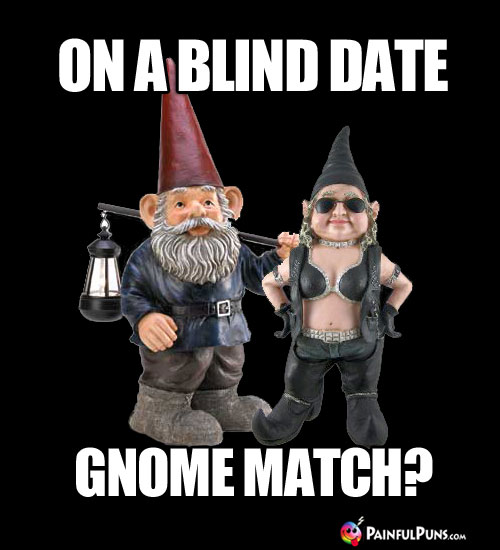 On a Blind Date: Gnome Match?