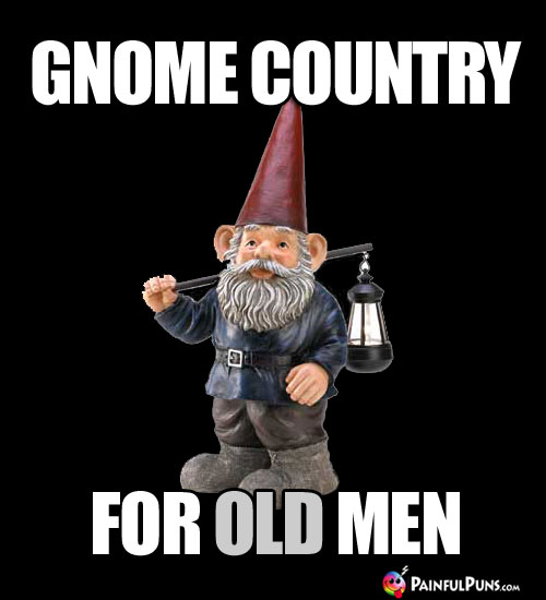 Gnome Country for OLD Men
