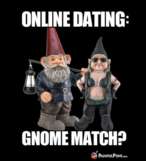 Online Dating: Gnome Match?