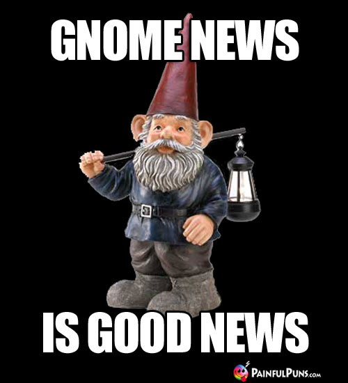 Gnome news is good new