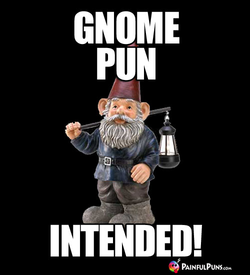 Gnome Pun Intended!