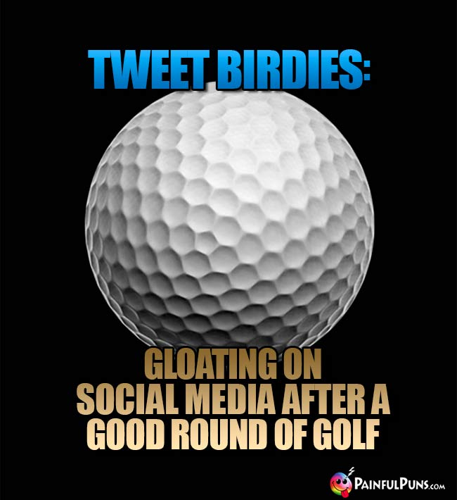 Tweet Birdies: Gloating on social media after a good round of golf