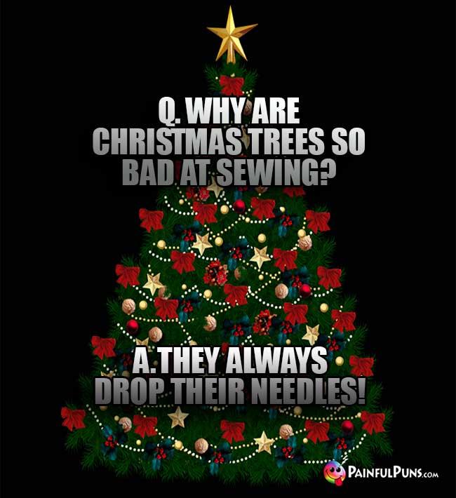 Why Christmas Trees: Funny Christmas Riddles, Xmas Jokes, Holiday Humor 9